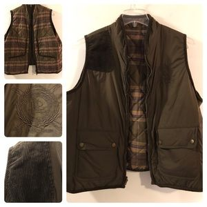 Fabulous reversible RL quilted vest